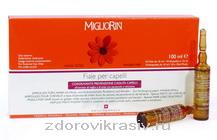 Лечебные ампулы для волос Миглиорин